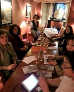 rencontre des blogueuses littéraires avec Muriel Magellan au Berkeley mercredi 2 avril 2014