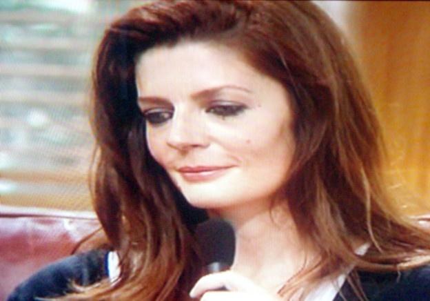 """Chiara Mastroniani à la conférence de presse de """"Persepolis"""""""