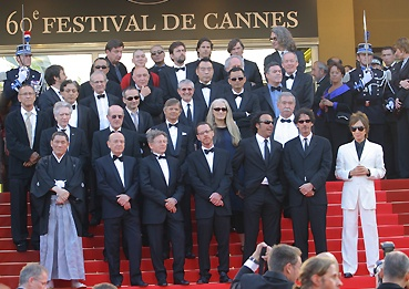Les 35 réalisateurs en haut des marches (photo L'Oréal Cannes)