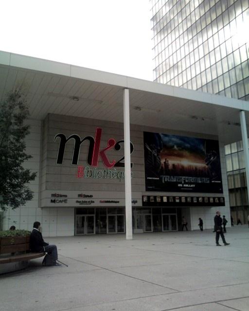 MK2 Bibliothèque avenue de France jeudi soir