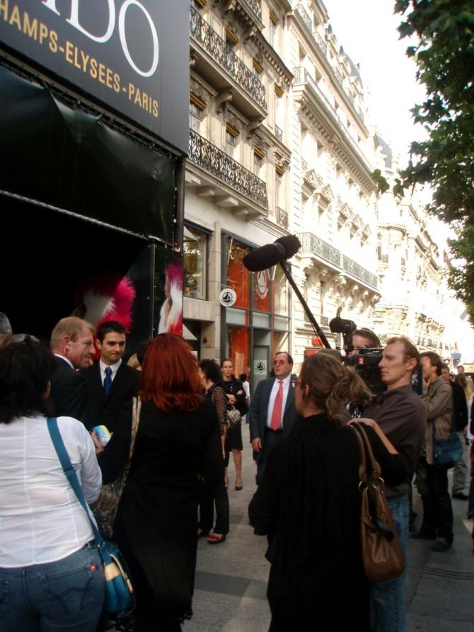 UGC Normandie avenue des Champs Elysées mardi soir