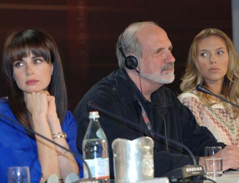 "Conférence de presse ""The Black dalhia"" de Brian de Palma"