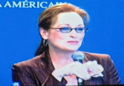 Meryl Streep incarne la redoutable Miranda, rédactrice en chef du magazine Runway, un cousin proche de Vogue