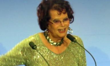 Claudia Cardinale, 1ère présidente Lumières