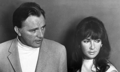 Richard Burton et Liz Taylor