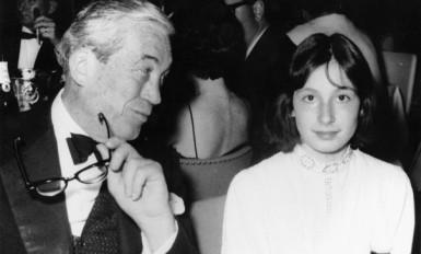 John et Anjelica Huston, 1936