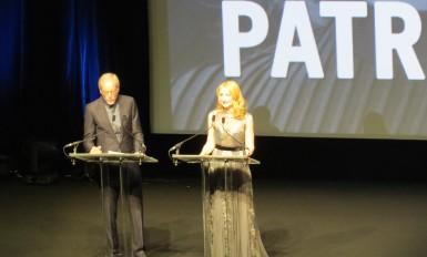 Hommage à Patricia Clarkson (toutes les photos CNM)