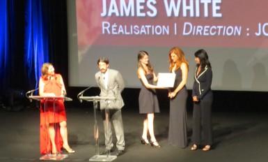 """""""James White"""", Prix Révélation avec son jury (toutes les photos CNM)"""
