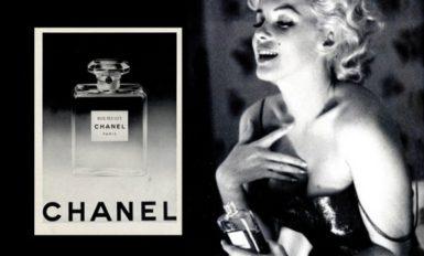 Marilyn Monroe (pub Chanel)