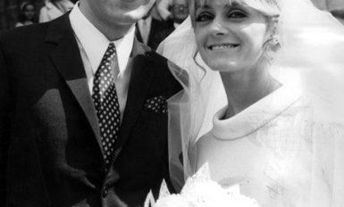 Michel Delpech épouse Chantal Simon, 1963