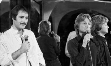 Michel Delpech et Claude François, 1975