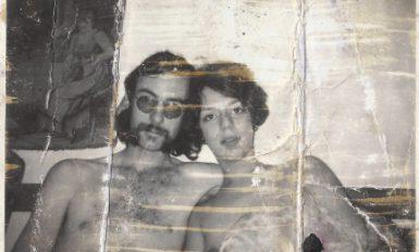Steve Abbott et sa femme, la mère d'Alysia