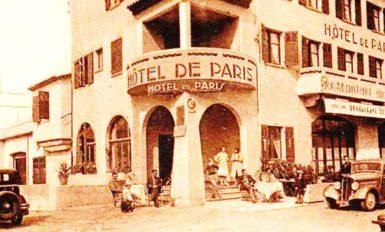 L'Hôtel de Paris en 1928