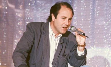 Michel Delpech dans les années 80