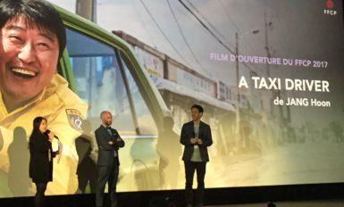 """Présentation de """"A taxi driver"""" lors de l'ouverture du #FFCP2017"""