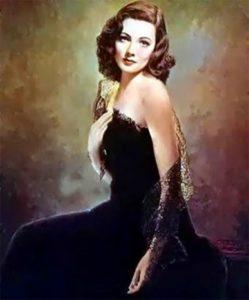 Le tableau représentant «Laura»