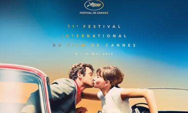 Affiche officielle du 71º Festival de Cannes